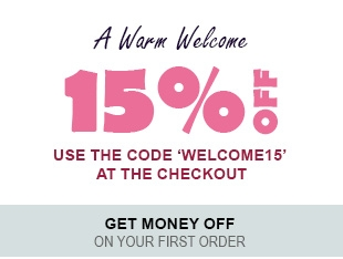 Receive a 15% discount on your first order