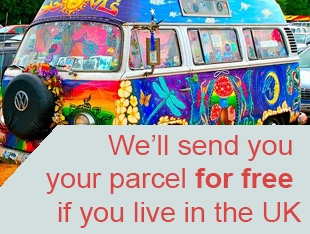 Free UK Delivery on your order, delivery for outside the UK will be added at checkout