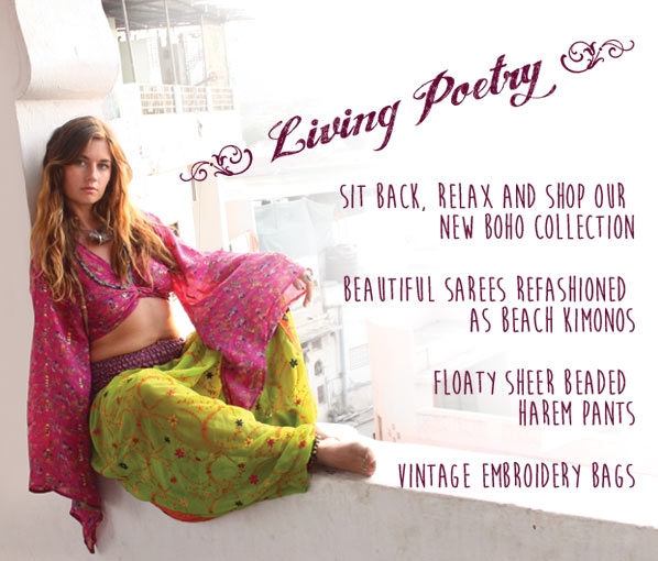 See our new collection line - Living Poetry