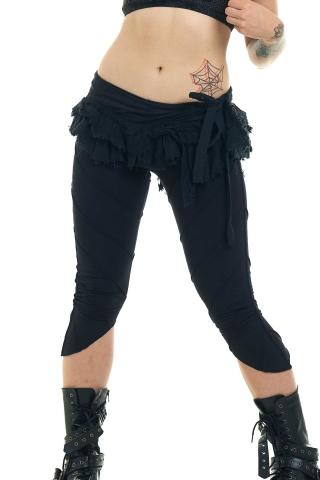 Micro Mini Tutu Skirt in Black - Micro Mini (DMGHMI) by Altshop UK