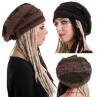 Hippie Tam Hat, Hippy Dread Festival Hat - Tam Hat (HT2130) by Altshop UK
