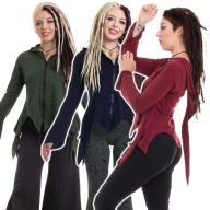 Psy Trance Pixie Top, Elven Top, Cosplay Clothing - Marla Top (WTP1071) by Altshop UK