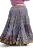 XL Belly Dance Skirt, plus size hippy boho Gypsy skirt in Lilac - Plus Size Siddartha Skirt (SDBESK) by Altshop UK