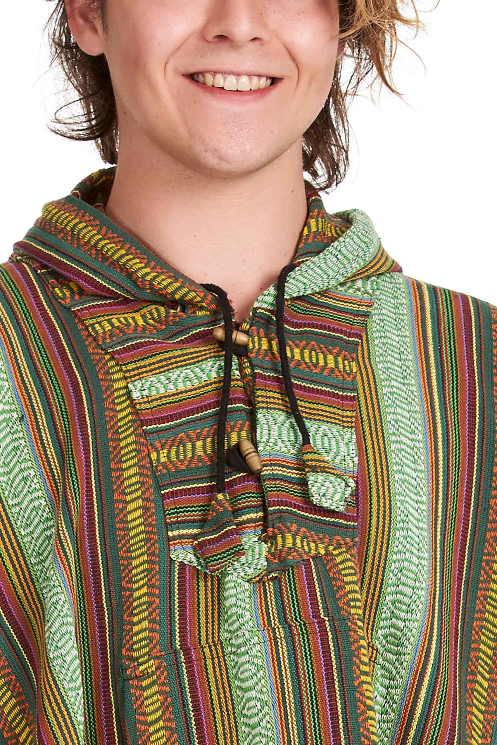 festival hippy poncho hooded plus size festival clothing