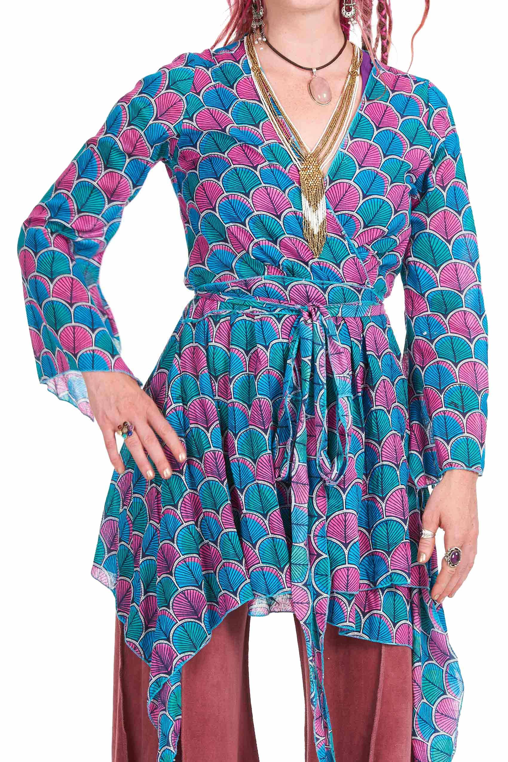 Wrap Kimono Dress