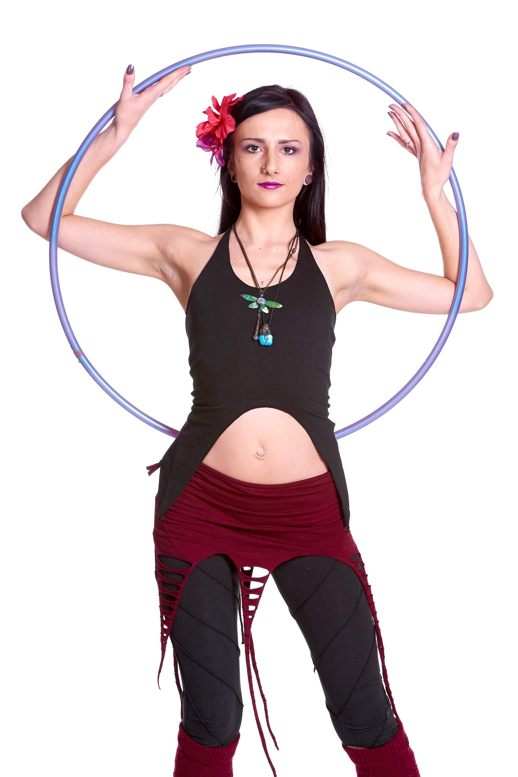 Backless Organic Pixie Top Festival Goa Boho Yoga Clothing Altshop Uk