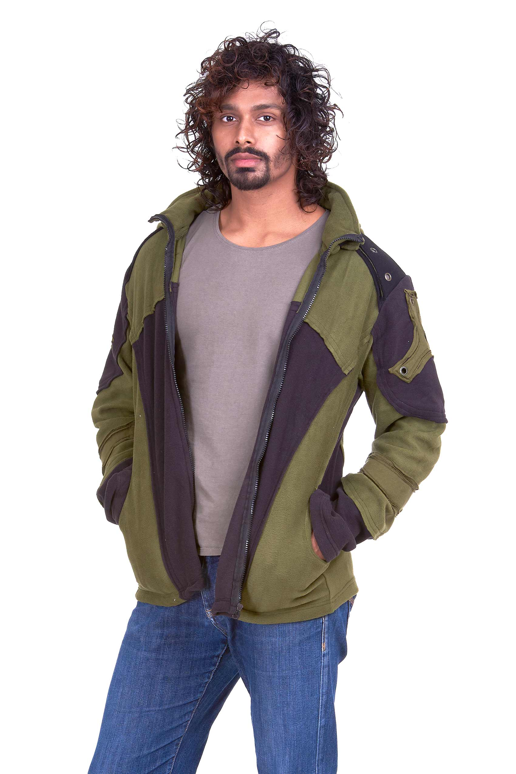 Zip Up Jackets Mens
