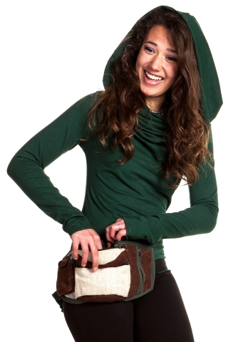 ORGANIC RECYCLED HEMP BUMBAG POCKETBELT