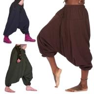Fleece Lined Ali Baba Trousers - Shyama Fleece Ali Babas (BHIMFLA) by Altshop UK