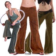 Hippy Psy Trance Trousers, Goa Hippie Festival Pixie Pants - New Mango Trousers (CH403) by Anki