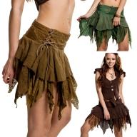 Elfin Fairy Skirt, faery pixie skirt, Goa psy trance skirt