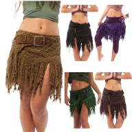 Woodland Pixie Glade Fairy Skirt, Hawain Hulu Inspired