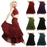 Spanish Gypsy Flamenco Skirt, one size wrap skirt