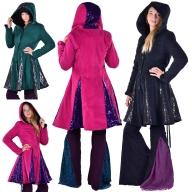 Sparkly Ladies Warm Winter Circus Coat With Sequin - Glitter Coat (DBLYBC) by Altshop UK