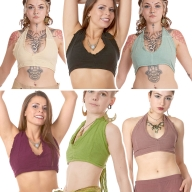 Psy Trance Fae Jute Bra Top - Irka Choli (DCIRKC) by Altshop UK