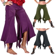 Pixie Pirate Pants, Psy Trance Festival Pirate Trousers - Pirate Trousers (DEVPIRT) by Altshop UK