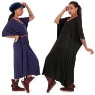 Witchy Flowy Cotton Kaftan Kimono - Kaftan Kimono (DMKAFKIM) by Altshop UK