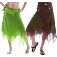 Layered Floaty Hippy Fairy Skirt