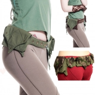 Festival Pocket Purse Belt, utility waist bag - Ganga Belt
