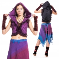 Psy Trance Clothing, boho pixie bolero top