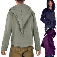 Mens Cyber Elf Hoodie, Mans Pixie Hood Jacket - Cyber Elf Jacket (RFGANJ) by Altshop UK