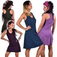 Flower of Life Sacred Geometry Dress, Racerback Tunic Dress, Yoga Mini Dress
