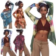 Tie Dye Hippy Summer Festival Cardigan - Tie Dye Jacket (RKTIED) by Altshop UK
