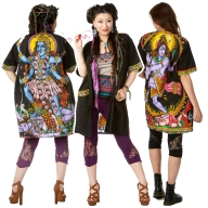 Oversized Kali Shiva Rave Shirt - Oversized Shirt 1 (ROKOVER1) by Altshop UK