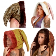 Furry Woodland Pixie Spirit Hood - Pixie Party Hood (ROKPAHO) by Altshop UK