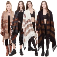 Tribal Blanket Cardigan Wrap - Kullu Cardigan (ROKULLU) by Altshop UK