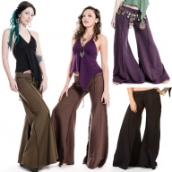 Comfy Flow Pants With Extra Wide Flare - Flow Pants (TLP224) by Altshop UK