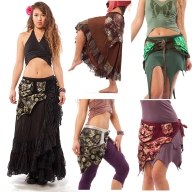 PLUS SIZE FESTIVAL POCKETBELT, psy trance pixie belt