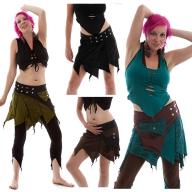 Festival Pixie Skirt, psy trance skirt