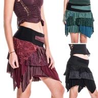 Ragged Pixie Skirt, festival fairy psy trance skirt