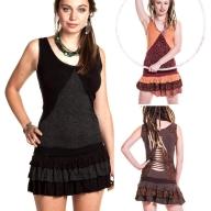 Woodland Spirit Minidress, doof hippie pixie summer dress