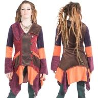 Velvet Patchwork Jacket, Woodland Fairy Jacket - Tinker Bell Cardigan (WCA1016) by Altshop UK