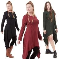 Long Sleeve Pixie Dress - Equinox Dress (WDR5241) by Altshop UK