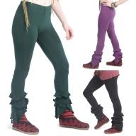 Psy Trance Leggings, Pixie Frilly Trousers - Long Leggings (WSLOLE) by Altshop UK