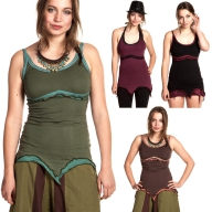 SUMMER PIXIE TOP, boho psy trance top