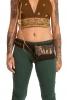 Camoflage Festival Pocket Belt in Green - Camo Belt (AARCAMO) by Altshop UK