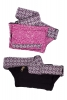 Mini Festival Pocket Waist Pouch in Pink - Small Cotton Pouch (AYAPCP) by Altshop UK