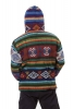 Mens Hippy Handloom Wool Yathra Jacket No 8 - Yathra Jacket (BHIMYAT) by Altshop UK