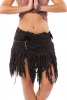 WOODLAND PIXIE GLADE FAIRY SKIRT - Black