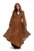Woodland Elf Hooded Lace Wrap in Brown - Ibiza Hood Wrap (DB182256) by Altshop UK