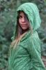 Woodland Elf Hooded Lace Wrap - Ibiza Hood Wrap (DB182256) in Green by Altshop UK