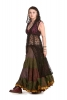 Boho Lace Pixie Overlay Dress in Black - Lace Fae Dress (DB182282) by Altshop UK