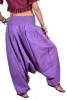 Ali Baba Pants, harem trousers, hippy festival Goa pants in Purple - Babuji Pants (DBAFC) by Altshop UK