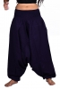 Ali Baba Pants, harem trousers, hippy festival Goa pants in Blue - Babuji Pants (DBAFC) by Altshop UK