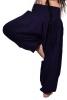 Ali Baba Pants, harem trousers, hippy festival Goa pants in Blue - Babuji Pants (DBAFC) by Altshop UK