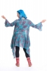 BOHO KIMONO JACKET, japanese festival hippy summer top in Turquoise - Japanese Wrap (DBANHC) by Altshop UK